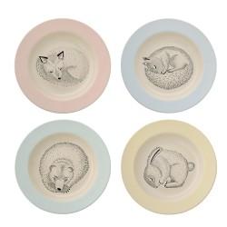 Detský tanier - Adelynn keramický Bloomingville