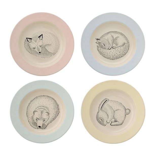 Detský tanier - Adelynn keramický Bloomingville Bloomingville