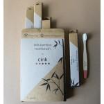 Bambusové zubné kefky pre deti 5ks - CINK