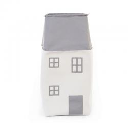 Box na hračky Domček - Grey off white Childhome