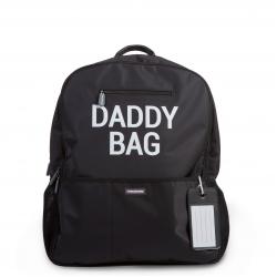 Prebaľovací batoh Daddy Bag - Black Childhome