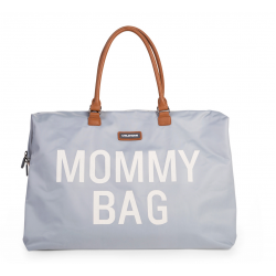 Prebaľovacia taška Mommy bag - Grey Off White Childhome