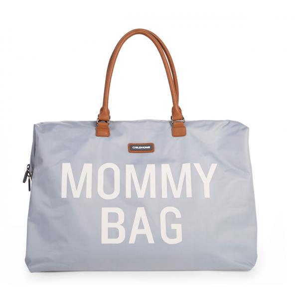 Prebaľovacia taška Mommy bag - Grey Off White Childhome Babyvillage.sk