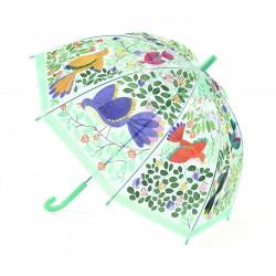 Dáždnik - Kvety a vtáčiky DJECO