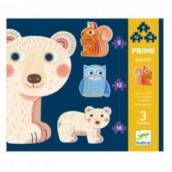 Primo puzzle pre najmenších - Les DJECO