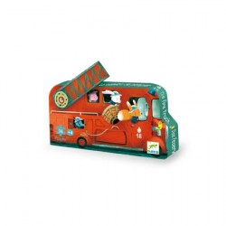 Puzzle - Hasičské auto DJECO