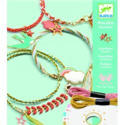 Sada na výrobu šperkov - Kumihimo náramky Celeste DJECO