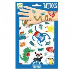 Tetovačky - Zvieratká DJECO