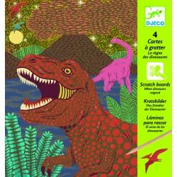 Vyškrabovačky - Doba dinosaurov DJECO