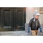 Čiapka ušianka - Paris Check Elodie Details