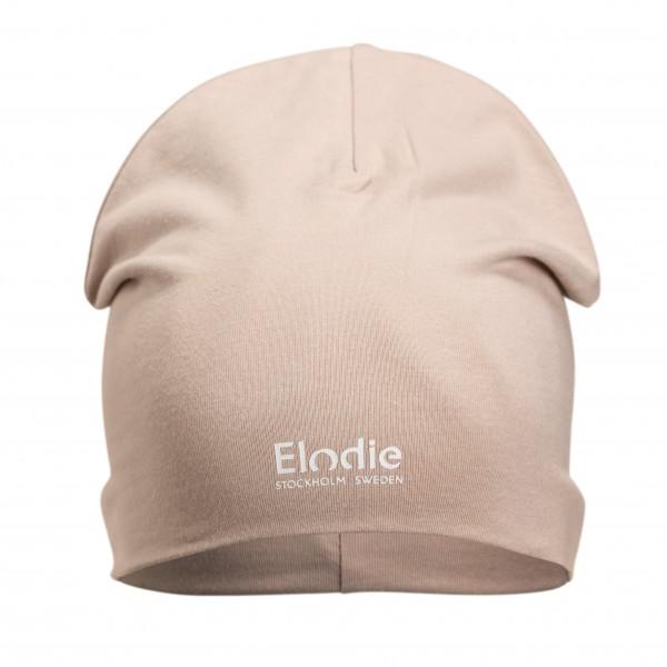 Bavlnená detská čiapka LOGO - Powder Pink Elodie Details Elodie Details