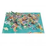 Vzdelávacie puzzle 200 ks - Dinosaury Janod