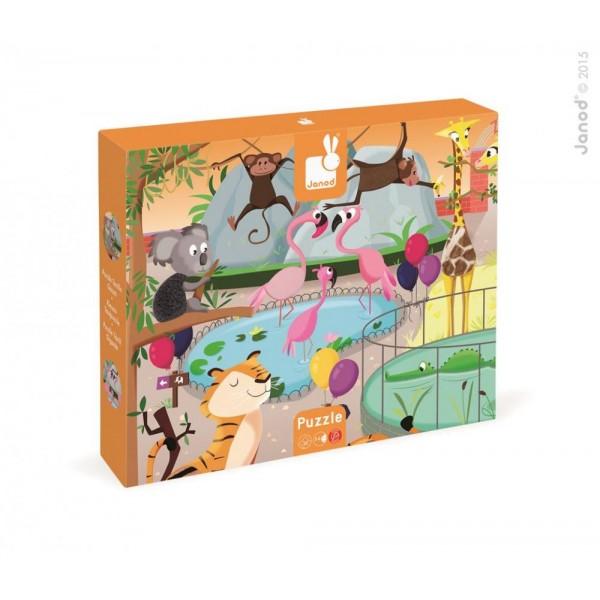 Dotykové puzzle - Zoologická záhrada Janod Janod