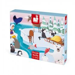 Dotykové puzzle - Život na ľade Janod