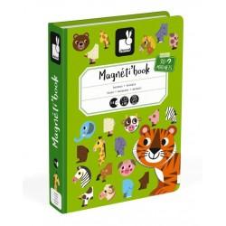 Magnetibook -Zvieratá Janod