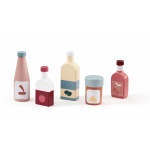 Set drevených fľašiek Kids Concept