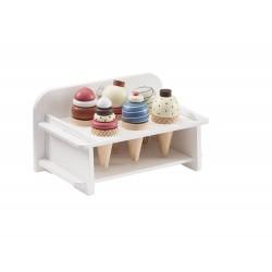 Drevená zmrzlina so stojanom Kids Concept