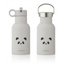 Nerezová fľaša - Panda light grey Liewood
