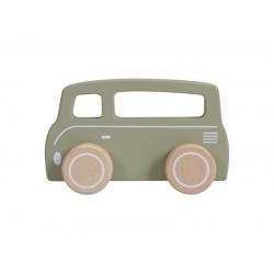Drevená dodávka - olive Little Dutch