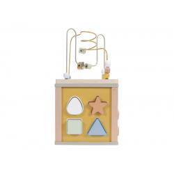 Kocka s aktivitami - olive goose Little Dutch