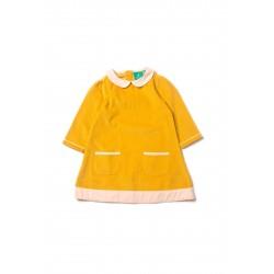 Šaty pre dievčatá - Gold Little Green Radicals - Výpredaj