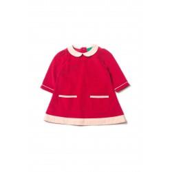 Šaty pre dievčatá - Raspberry Little Green Radicals - Výpredaj