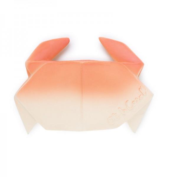 Hryzátko a hračka H2Origami Crab OLI & CAROL OLI & CAROL