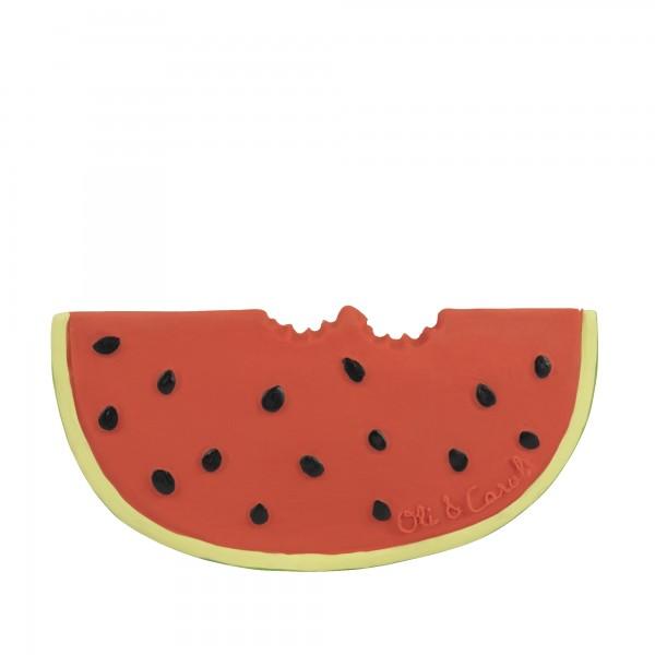 Hryzátko a hračka Wally the Watermelon OLI & CAROL