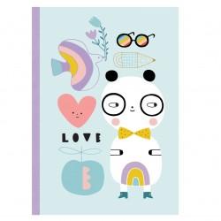 Zápisník - Panda Petit Monkey