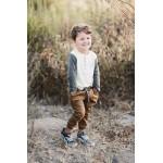 Detské tričko s dlhým rukávom - Explore Rylee and Cru - zľava Rylee and Cru