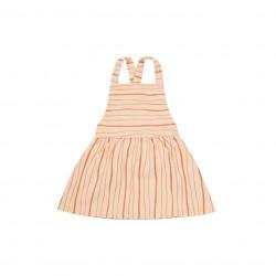 Dievčenské šaty Criss Cross Linus - Blush Rylee and Cru - zľava