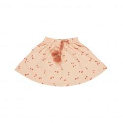 Mini Dievčenská Sukňa Bow Ties - Blush Rylee and Cru - zľava