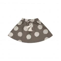 Mini Dievčenská Sukňa Dot - Slate Rylee and Cru - zľava