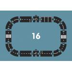 Flexibilná cesta - Set 16 ks Expressway Waytoplay