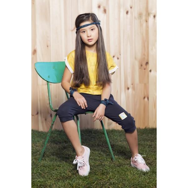 Set: Detské tepláky a tričko Jumpsuit Be Nature Più di ME - výpredaj